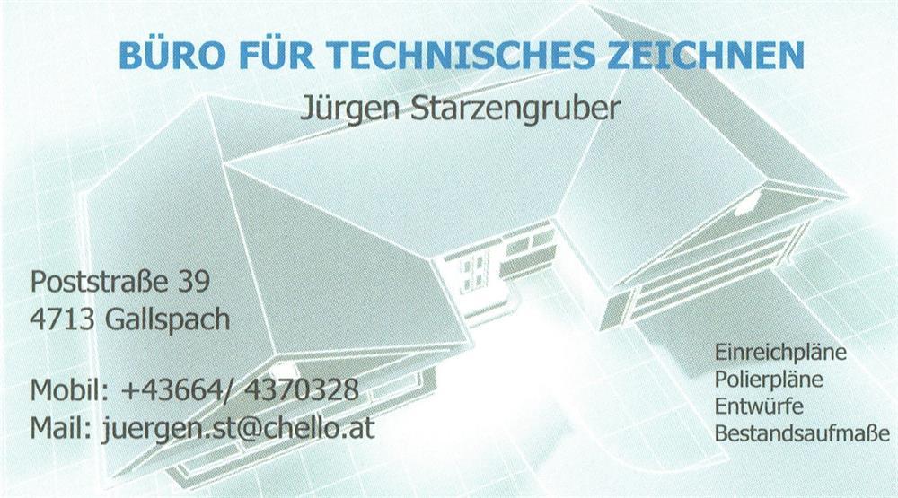 Jurgen Starzengruber Technisches Buro Fur Zeichnen Gallspach Ris
